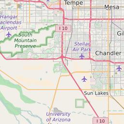 map of sun lakes az Zip Code 85248 Profile Map And Demographics Updated July 2020 map of sun lakes az