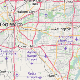 Interactive Map Of Tarrant County Texas Middle School Attendance Zones
