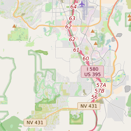 Reno Nv Zip Code Map Reno, Nevada ZIP Code Map   Updated October 2020