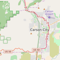 Carson City Nevada Zip Code Map Updated August 2020
