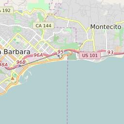 santa barbara ca zip code map Zip Code 93111 Profile Map And Demographics Updated July 2020