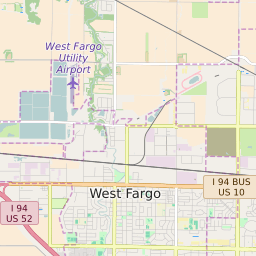 Zip Code 58103 Profile Map And Demographics Updated July 2020
