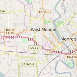 map of monroe louisiana Zip Code 71201 Profile Map And Demographics Updated July 2020 map of monroe louisiana