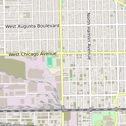 Map Of The West Garfield Park Neighborhood In Chicago Illinois October 2020