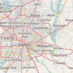 Dallas Texas Zip Code Map Updated August 2020