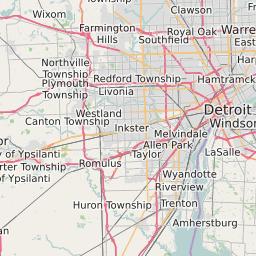 Detroit Michigan Zip Code Map Updated November 2020