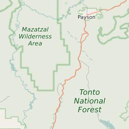 Mesa Arizona Zip Code Map Updated October